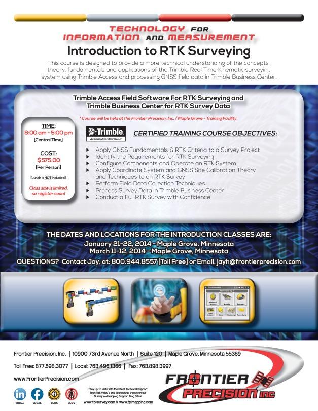 FPI Introduction to RTK Surveying 2013-14