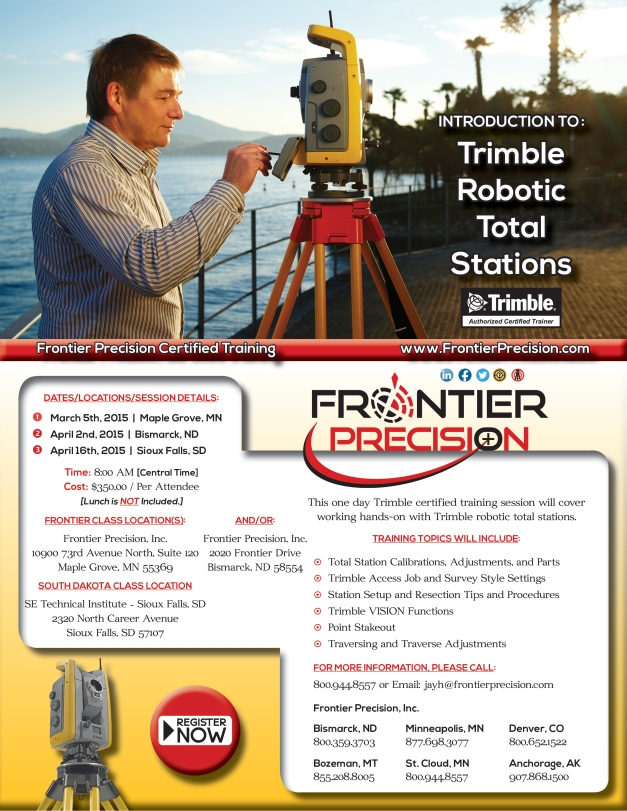2015 Jay Introduction to Total Station Flyer